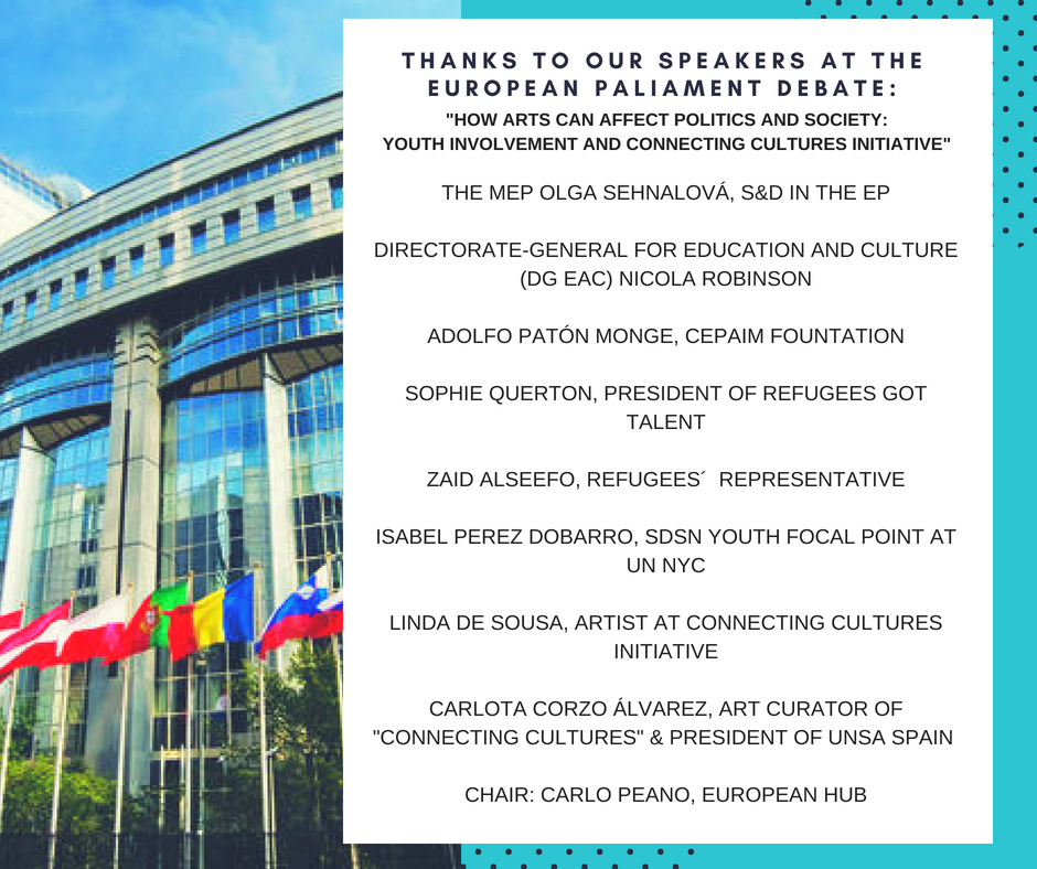 Thanks to our speakers at the European Parliament Debate